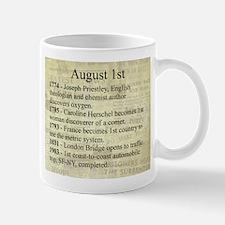 August 1st Mugs