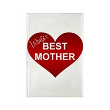 WORLD'S BEST MOTHER Rectangle Magnet