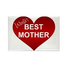 WORLD'S BEST MOTHER Rectangle Magnet