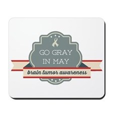 Go Gray In May Mousepad