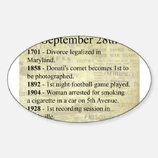September 28th Decal