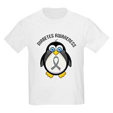 Diabetes Awareness Penguin T-Shirt