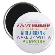 Wake Up With a Purpose Magnet
