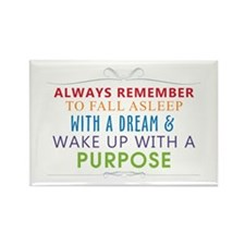Wake Up With a Purpose Rectangle Magnet (10 pack)