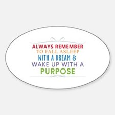 Wake Up With a Purpose Decal