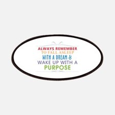 Wake Up With a Purpose Patches