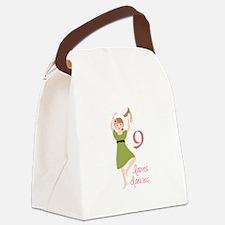 9 laDies daNciNG Canvas Lunch Bag