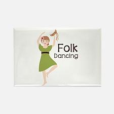 Folk Dancing Magnets