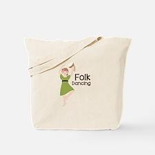 Folk Dancing Tote Bag
