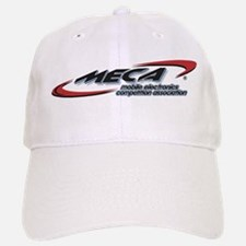 Baseball Baseball Cap w/MECA Club Logo (White or Tan)