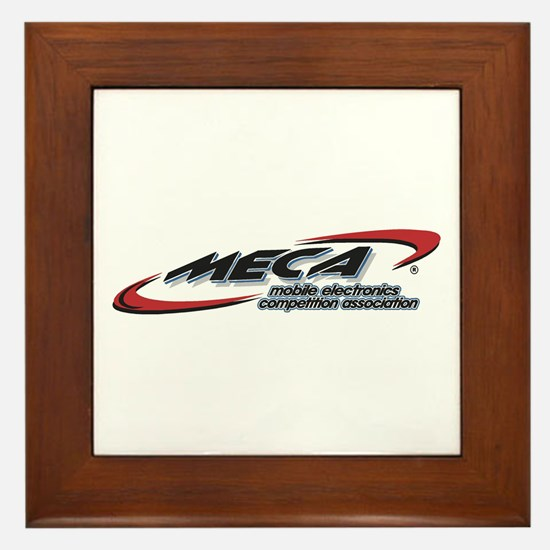 Framed Tile w/MECA Club Logo