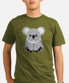 Cute Koala Bear  Organic Men's T-Shirt (dark)