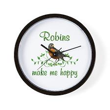 Robin Happy Wall Clock
