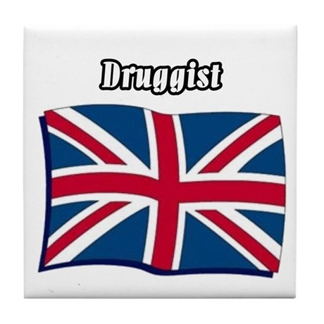 Druggist (England) Tile Coaster