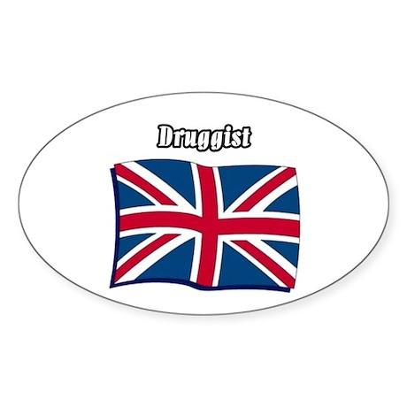 Druggist (England) Oval Sticker
