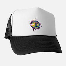 Hawkeye Splatter Trucker Hat