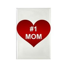 #1 MOM Rectangle Magnet