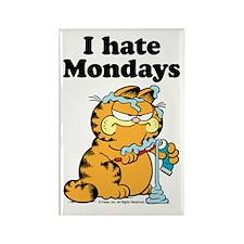 I Hate Mondays Rectangular Magnets