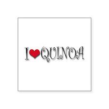 """Cute Quinoa Square Sticker 3"""" x 3"""""""