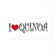 Unique Gluten Aluminum License Plate