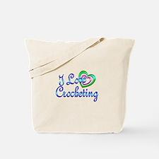 I Love Crocheting Tote Bag