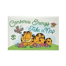 Conserve Energy Rectangle Magnets