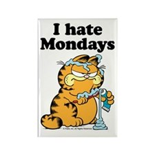 I Hate Mondays Rectangular Magnets