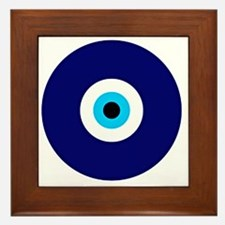 Evil Eye Charm  Framed Tile