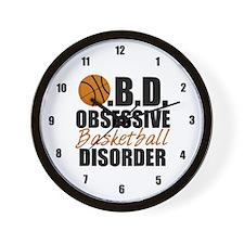 Funny Basketball Wall Clock