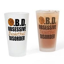 Funny Basketball Drinking Glass