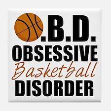 Funny Basketball Tile Coaster