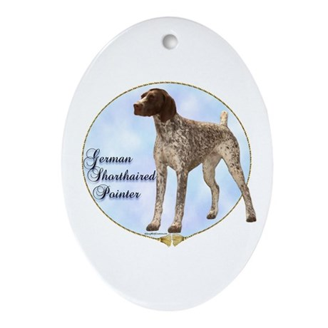 GSP Portrait Oval Ornament