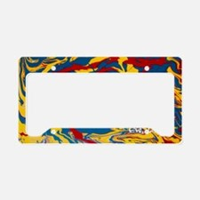 Marble Mash by Marbles4MS License Plate Holder