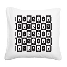 Light Switch Square Canvas Pillow