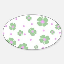 Cute Pink+Mint LUCKY IN LOVE Decal
