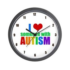 Autism Love Wall Clock