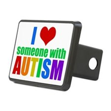 Autism Love Hitch Cover
