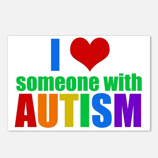 Autism Love Postcards (Package of 8)