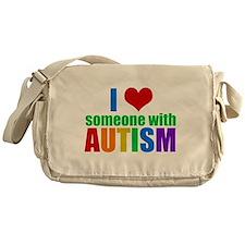 Autism Love Messenger Bag