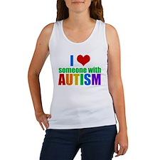 Autism Love Women's Tank Top