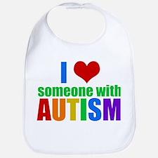 Autism Love Bib