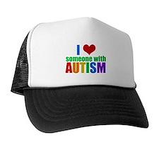 Autism Love Trucker Hat