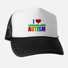 Autism Love Trucker Hat