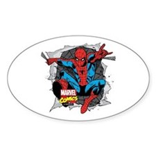Spiderman Ripped Decal