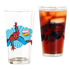 Spiderman Cloud Drinking Glass