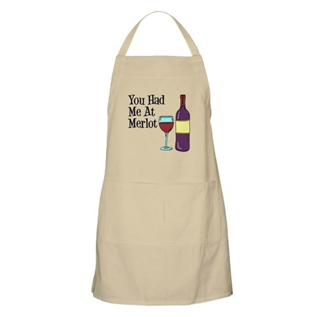 You Had Me At Merlot Apron