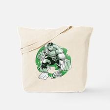 Hulk Grunge Tote Bag