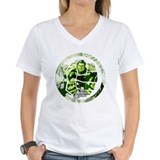 Marvel hulk Womens V-Neck T-shirts