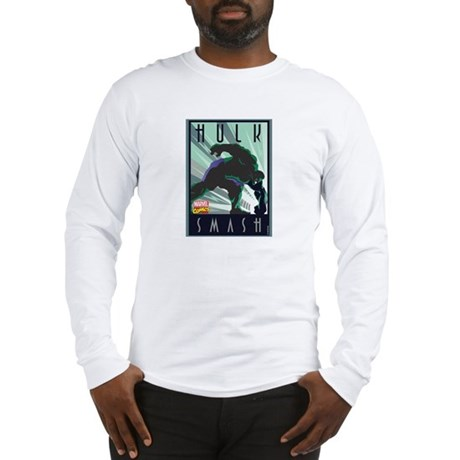 Hulk Smash Decco Long Sleeve T-Shirt