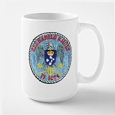 USS HAROLD E. HOLT Mugs